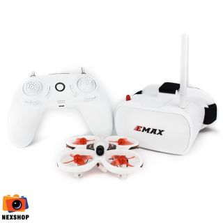 Emax EZ Pilot Beginner Indoor FPV Racing Drone With 600TVL CMOS Camera 37CH 25mW RC Quadcopter RTF - One Battery thumbnail