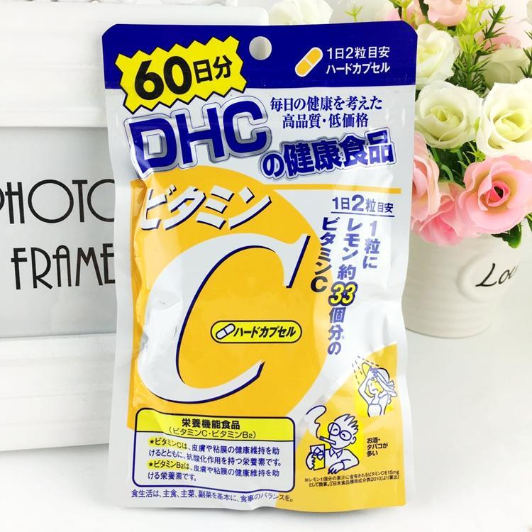 Viên uống bổ sung vitamin C 60 ngày của Nhật Bản 120 viên NHẬT BẢN nhập khẩu