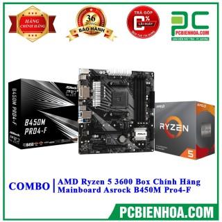 Combo Ryzen 5 3600 + Mainboard (AsusASrockMSI) - B450 Gaming Plus Max thumbnail