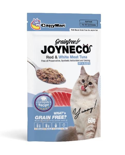 [HCM]Pa tê/Sốt cá ngừ đỏ và cá ngừ trắng cho mèo Cattyman Joyneco Red and white tuna 60g