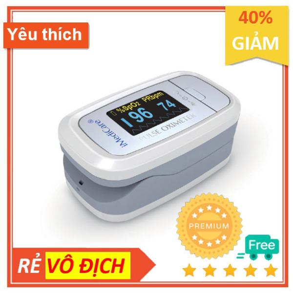 Máy đo nồng độ Oxy trong máu Spo2 và đo nhịp tim Imedicare A6 thuộc dòng cao cấp nhất của Imedicare thương hiệu đến từ Singapore bán chạy