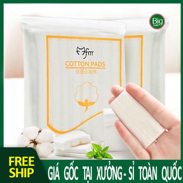 Bông tẩy trang 3 lớp 222 miếng  🔥𝑭𝑹𝑬𝑬𝑺𝑯𝑰𝑷🔥  cotton Pads BIG SALE MART giá rẻ