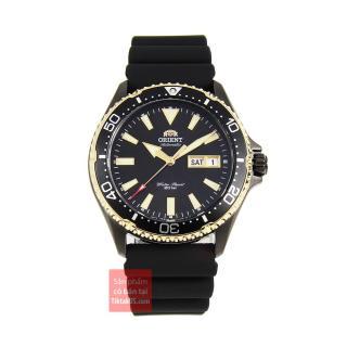 Đồng hồ nam dây cao su Orient Mako III RA-AA0005B19B đường kính 41.5 mm, độ chịu nước 20ATM, kính Sapphire chống trầy, máy cơ phong cách thể thao thumbnail
