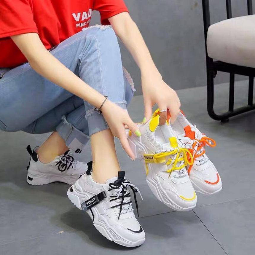 Giày thể thao sneaker nữ BLAI mới - giày nữ đi học, giày sneaker nữ hàn quốc, giầy nữ, giày bata nữ, giày nữ giá rẻ, giày thể thao nữ độn đế, giày trắng nữ, giày nữ đẹp giá rẻ