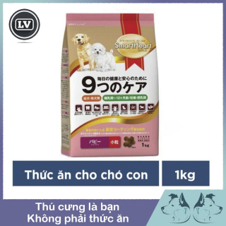 Thức ăn cho chó con Smartheart Gold Puppy túi 1kg thumbnail