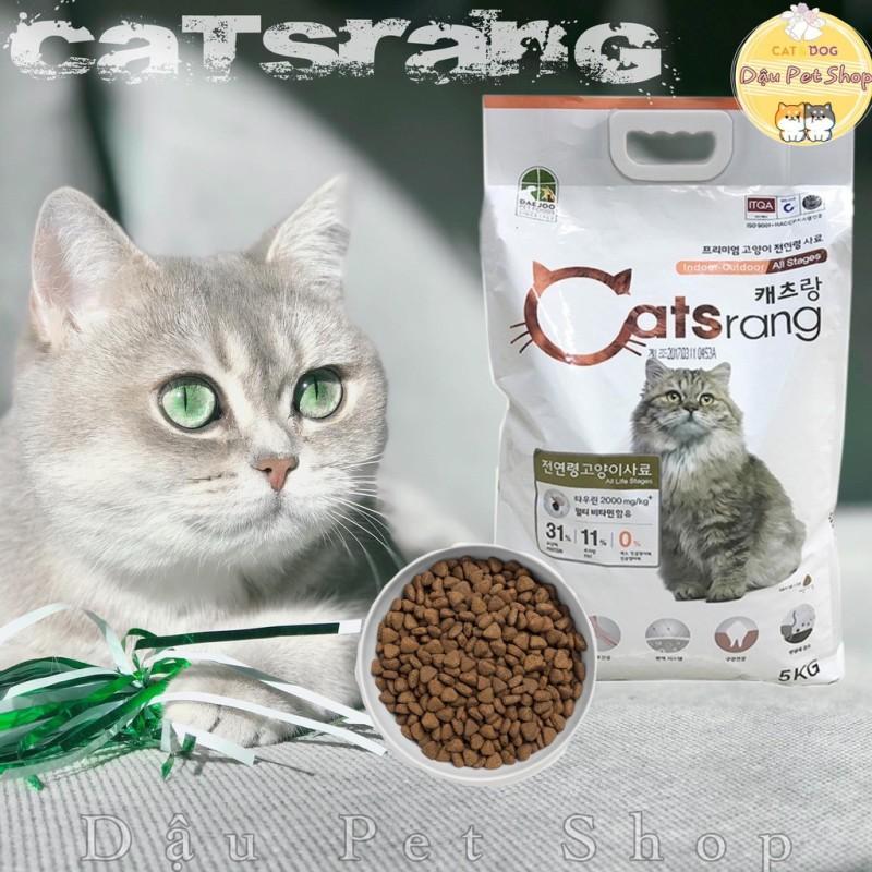 Catsrang Hàn Quốc 5kg thức ăn hạt cho mèo, cam kết hàng đúng mô tả, chất lượng đảm bảo, an toàn cho thú cưng sử dụng