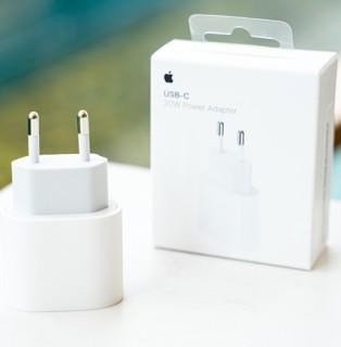 (Fullbox 100%) Cốc Sạc nhanh Apple 20W Type-C PD chân tròn Châu Âu zin hãng 100% thumbnail