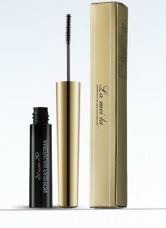 Tặng Kẻ mắt nước Lameila + Son dưỡng Mascara siêu vi 3D Lameila vỏ đen nắp vàng sang trọng, đầu chải siêu nhỏ - siêu dài - dày - cong thumbnail