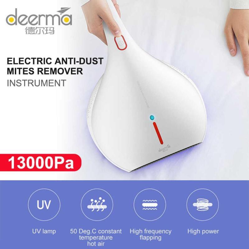 Máy hút bụi cầm tay Deerma CM800 diệt khuẩn đèn UV, hút bụi gối đệm giường