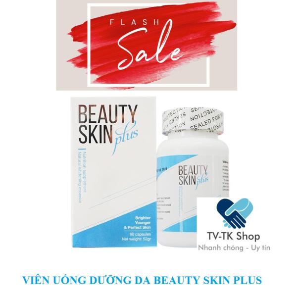 Viên Uống Trắng Da Chống Nắng Beauty Skin Plus ( Mẫu mới - Nhập Khẩu Mỹ)
