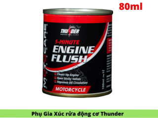 Phu Gia Xúc Rửa Động Cơ Siêu Sạch Thunder Engine Flush 100ml thumbnail