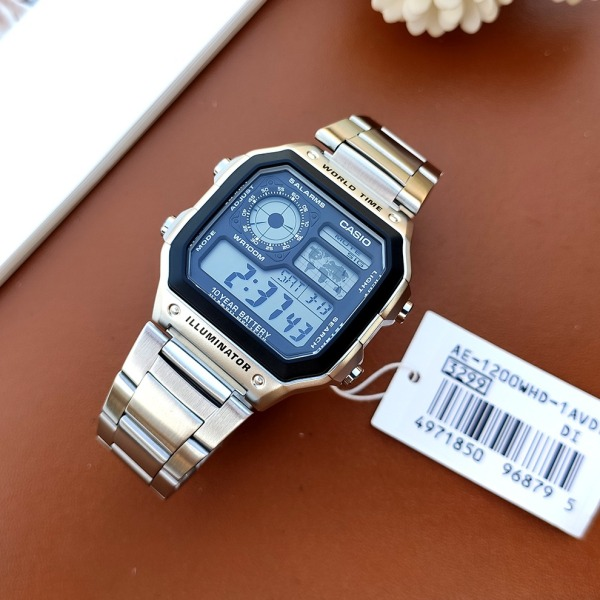 Đồng hồ nam CASIO AE-1200WHD-1AV