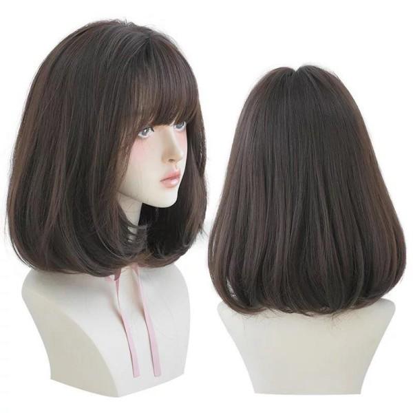 Tóc giả nữ cả đầu ❤️FREESHIP❤️ Tóc giả nguyên đầu vic mẫu mới 2020 ảnh nhập khẩu