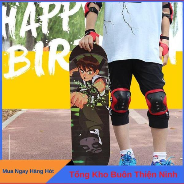 Giá bán Ván trượt skateboard trẻ em hoạt hình đáng yêu cho bé trai và bé gái - thiết kế đúng tiêu chuẩn thi đấu, an toàn chắc chắn độ bền cao, BH 12 Tháng đổi 1