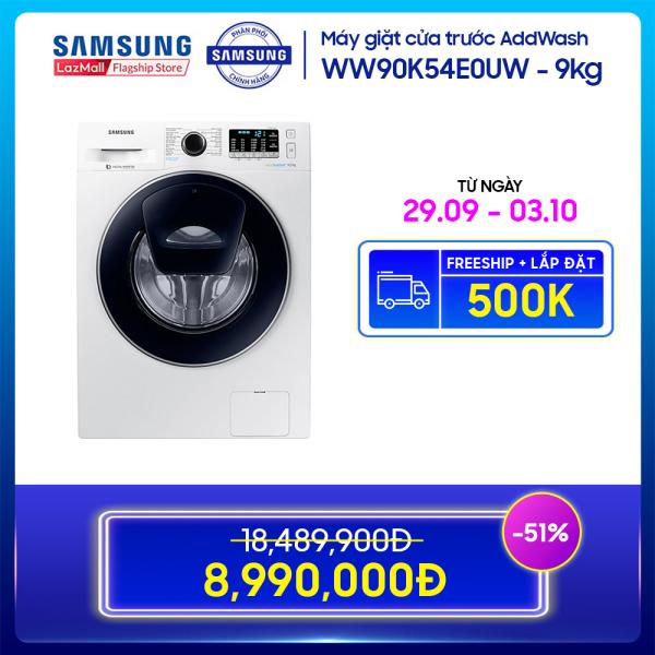 Bảng giá Máy giặt cửa trước Samsung AddWash 9kg - WW90K54E0UW Điện máy Pico