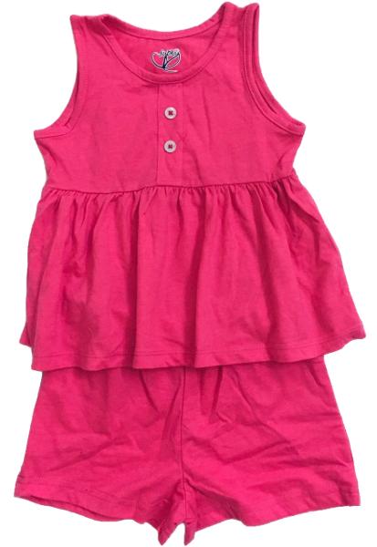 Giá bán Bộ Cotton bé gái Hồng sen cam kết chất đẹp