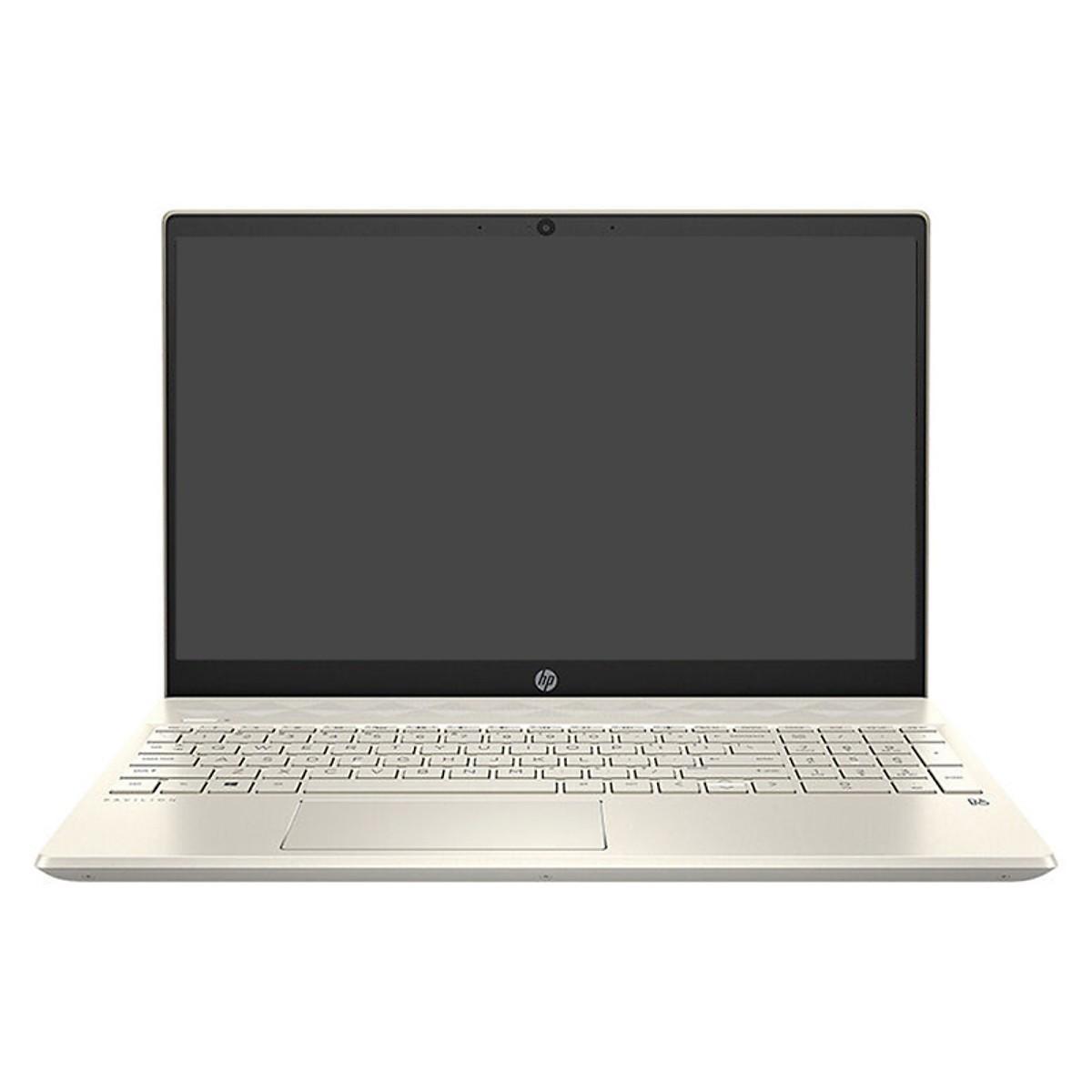 Laptop HP Pav 15-cs2055TX 6ZF22PA i5-8265U,4GD,1TB+128GSSD,15.6FHD,VGA 2G_MX130ALU,VÀNG/W10SL