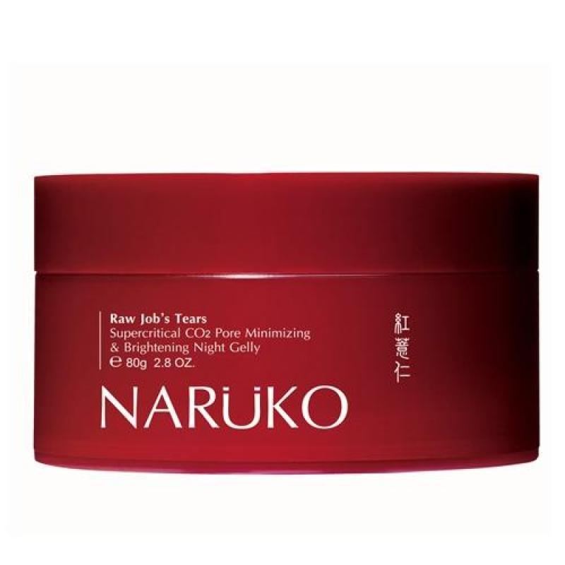 Naruko mask ngủ ý dĩ nhân đỏ 80 gr – Naruko RJT Supercritical CO2 Pore Minimizing and Brightening Night Gelly 80 gr giá rẻ