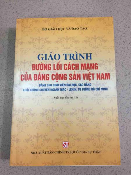 Mua Giáo Trình Đường Lối Cách Mạng Của Đảng Cộng Sản Việt Nam
