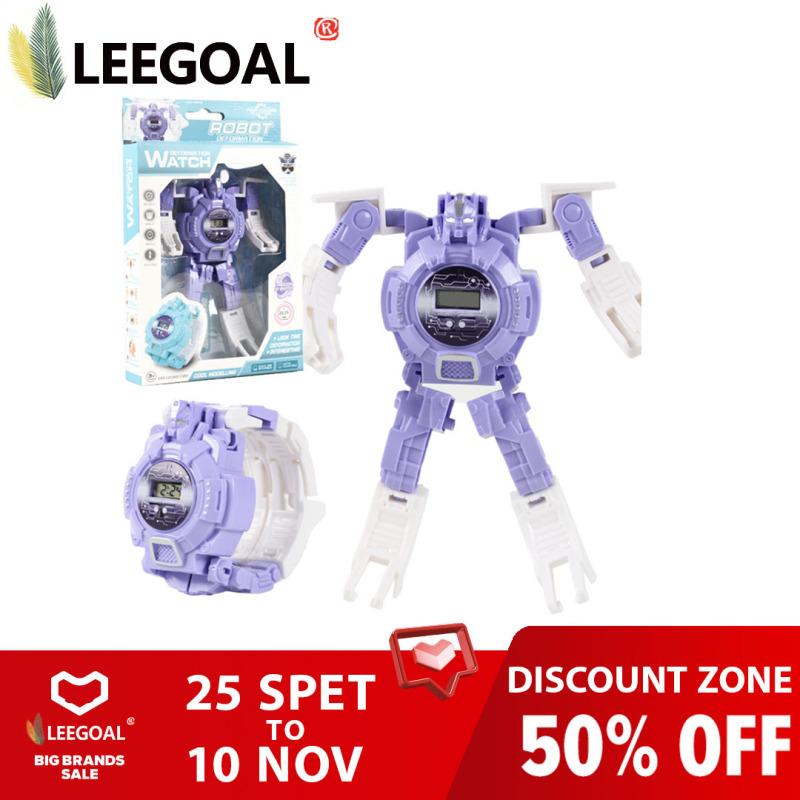 Nơi bán Đồng Hồ Điện Tử Leegoal Cho Trẻ Em, Đồng Hồ Đồ Chơi Robot Biến Hình