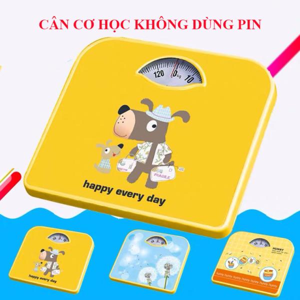 Cân sức khỏe Cân gia đình cao cấp hoạt động cơ học, trọng tải tối đa 130kg ( bước nhảy 0.1kg ) - Hàng nhập khẩu