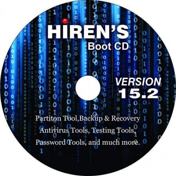 Bảng giá Đĩa CD Hirens Boot 15.2 - cứu hộ máy tính Phong Vũ