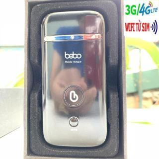 Modem Phát wifi 3G 4G BEBO ZTE MF65, kết nối nhiều thiết bị, chạy bằng pin, sóng cực khỏe - tặng sim 4g lướt web mỏi tay - Bảo hành từ MƯỜNG THANH ROYAL thumbnail
