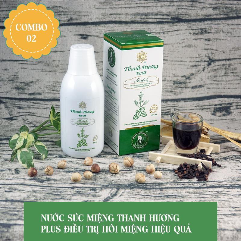 Điều trị Hôi Miệng Combo 2 Hộp Thanh Hương Plus