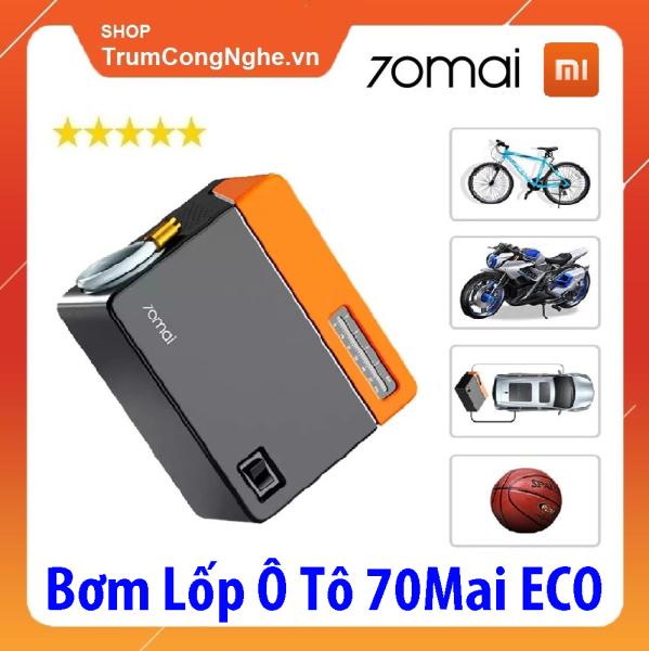 Máy Bơm Lốp Xe Ô tô Xiaomi 70MAI Midrive TP04 Nhỏ Gọn Bơm Khoẻ - 70MAI Aircompressor Eco Midrive TP04 Standard Version