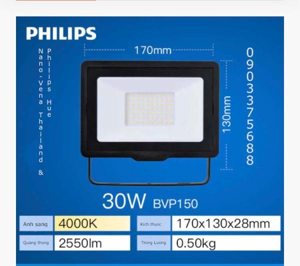 Đèn pha LED PHILIPS BVP150 công suất 30w