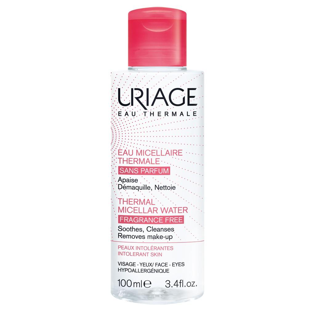 Nước tẩy trang dành cho da kích ứng Uriage eau micellaire thermal pi f 100ml sản phẩm chiết xuất từ các thành phần lành tính an toàn cho người sử dụng