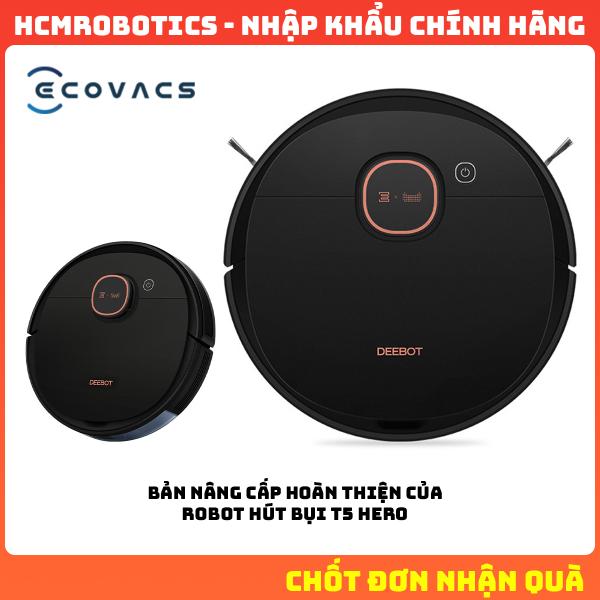 Robot hút bụi Ecovacs T5 MAX 2021