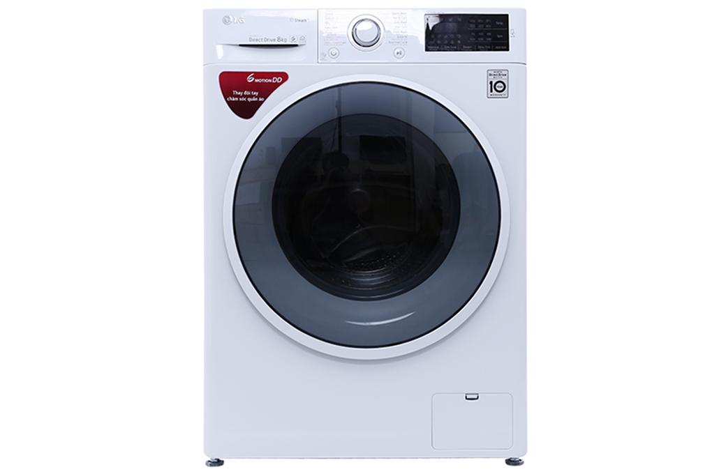 Máy Giặt Cửa Ngang Inverter LG FC1408S4W2 (trắng)