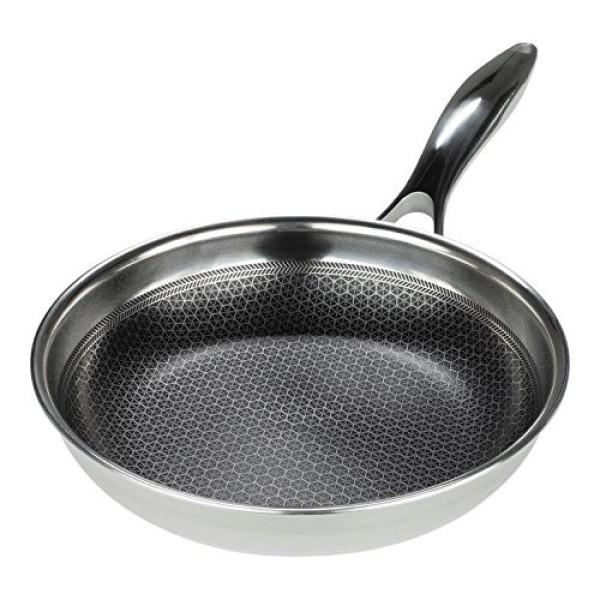 Chảo chống dính cao cấp 3 lớp inox 304 T&K Blackcube Hàn Quốc siêu bền (20cm / 22cm / 24cm / 26cm / 28cm / 30cm /32cm ), với lớp chống dính Daikin Nhật cực bền , tương thích mọi bếp , bếp từ , gas, hồng ngoại