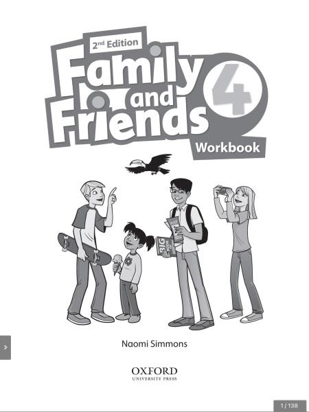 Bảng giá Sách tương tác Family and Friends 4 class book và Workbook Phong Vũ