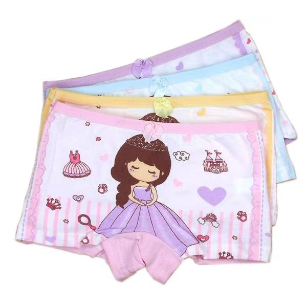 Giá bán Quần chip đùi cotton cho bé gái 2-12 tuổi hình công chúa lung linh BBShine – C007