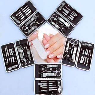 Bộ cắt móng 12 món-Bộ kìm cắt móng tay - Bộ kìm bấm móng tay 12 chi tiết thumbnail