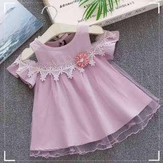 Váy Bé Gái Đầm Trẻ Em Mới 2019, Váy Sinh Nhật Hoa, Váy Lưới Cotton Cho Trẻ Sơ Sinh Quần Áo Mùa Hè Cho Bé Quần Áo Bé Gái Trẻ Em