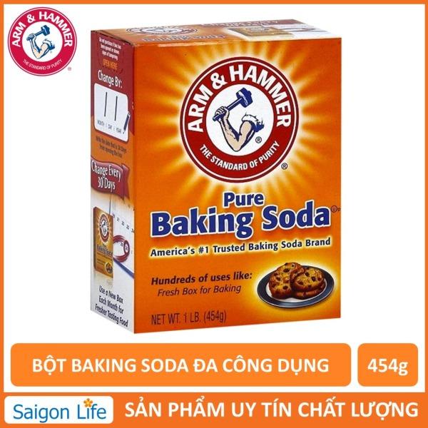 Bột Baking Soda Đa Công Dụng 454g Hàng Chính Hãng Xuất Xứ Từ Mỹ, Bột Dễ Tan, Hút Ẩm Rất Tốt, An Toàn Sử Dụng