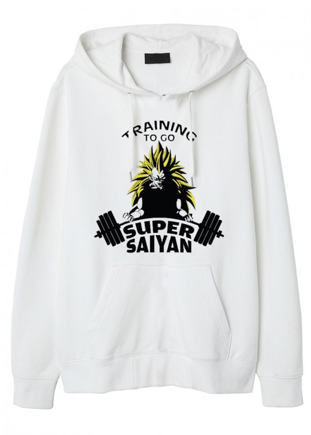Xả Hàng Số Lượng Cực Ít  Áo Hoodie Super Saiyan Training