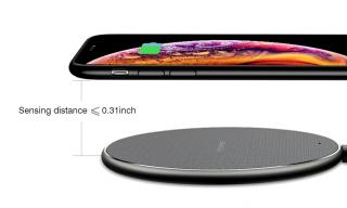 Sạc Nhanh Không Dây Qi đế sạc không dây Di Động Chống Trượt, Cho Samsung iPhone Huawei Xiaomi Bộ Sạc Không Dây thumbnail