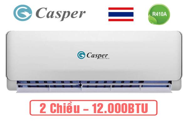 Máy lạnh - Điều Hòa Casper 12000BTU 2 chiều EH-12TL22 Gas R410A - Hàng chính hãng - Bảo hành 36 tháng
