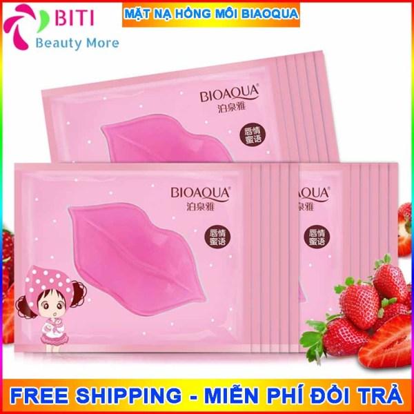[10 MIẾNG] Mặt nạ môi Biaoqua Biti Shop Mặt nạ Collagen dưỡng ẩm làm hồng môi căng mọng môi - Mặt nạ nội địa Trung BitiShop
