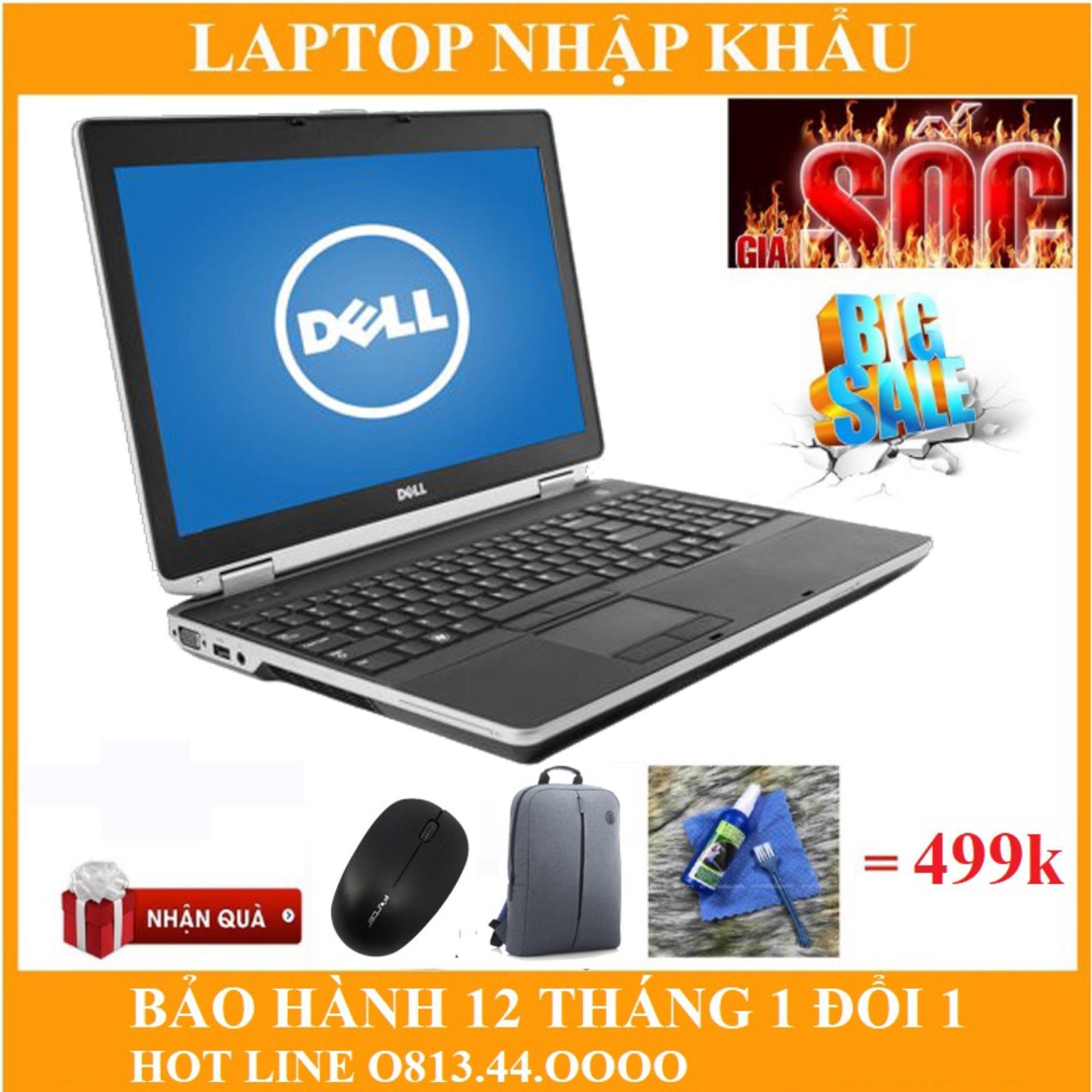 Dell  E6520 I7 15.6 Inch  Ram 8 GB SSD 240gb Bảo Hành 12 Tháng. Giá Quá Ưu Đãi