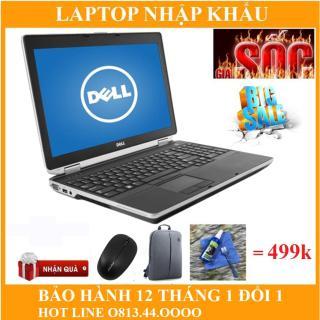 Dell E6520 i7 15.6 inch Ram 8 GB SSD 240gb hàng nhập khẩu mỹ nguyên zin keng full box good 100% bảo hành 12 tháng thumbnail