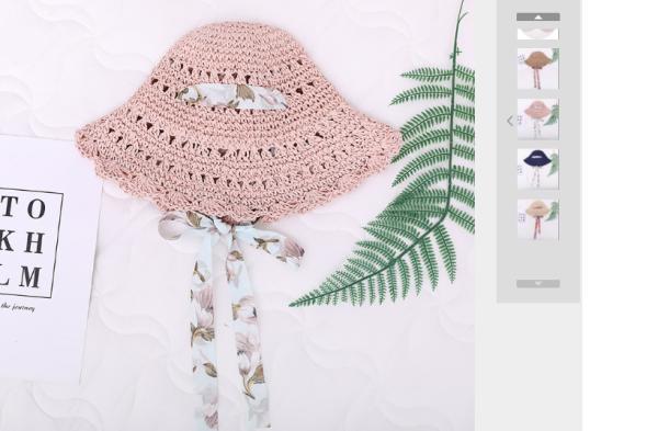 Giá bán nón cói bé gái hàng hè 2020
