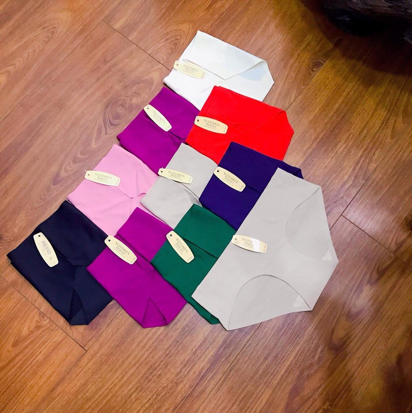 Bộ 10 quần lót nữ su đúc không đường may - TinTin888