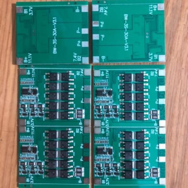 Combo 10 mạch 3s 30a fun linh kiện