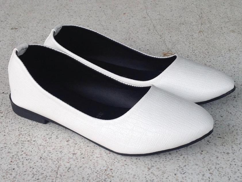 (Miễn ship) Giày nữ, giày búp bê xinh xắn da xịn mềm lót êm chân đi mưa chùi rửa thoải mái PinkShopGiayDep MS 235 giá rẻ