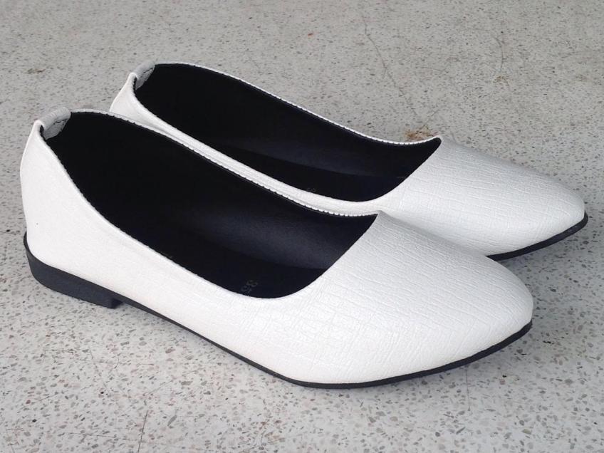 Giày nữ, giày búp bê xinh xắn da xịn mềm lót êm chân đi mưa chùi rửa thoải mái PinkShopGiayDep MS 235 giá rẻ